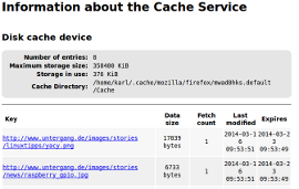 firefox about:cache